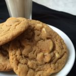 Snake's Peanut Butter and White Chocolate Cookies