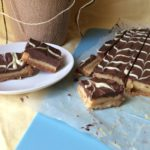 Caramel Slice  (without shop bought condensed milk)