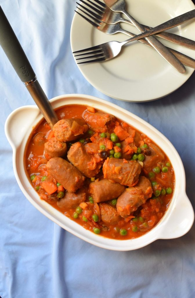Curried Sausages Recipe