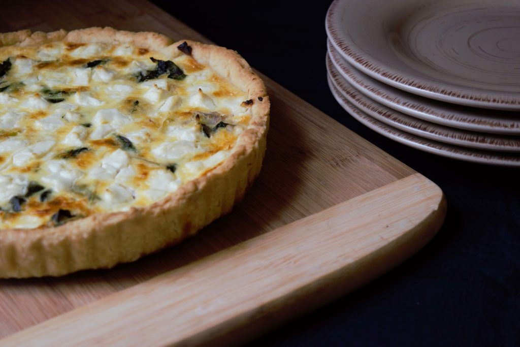 Goats Cheese Quiche