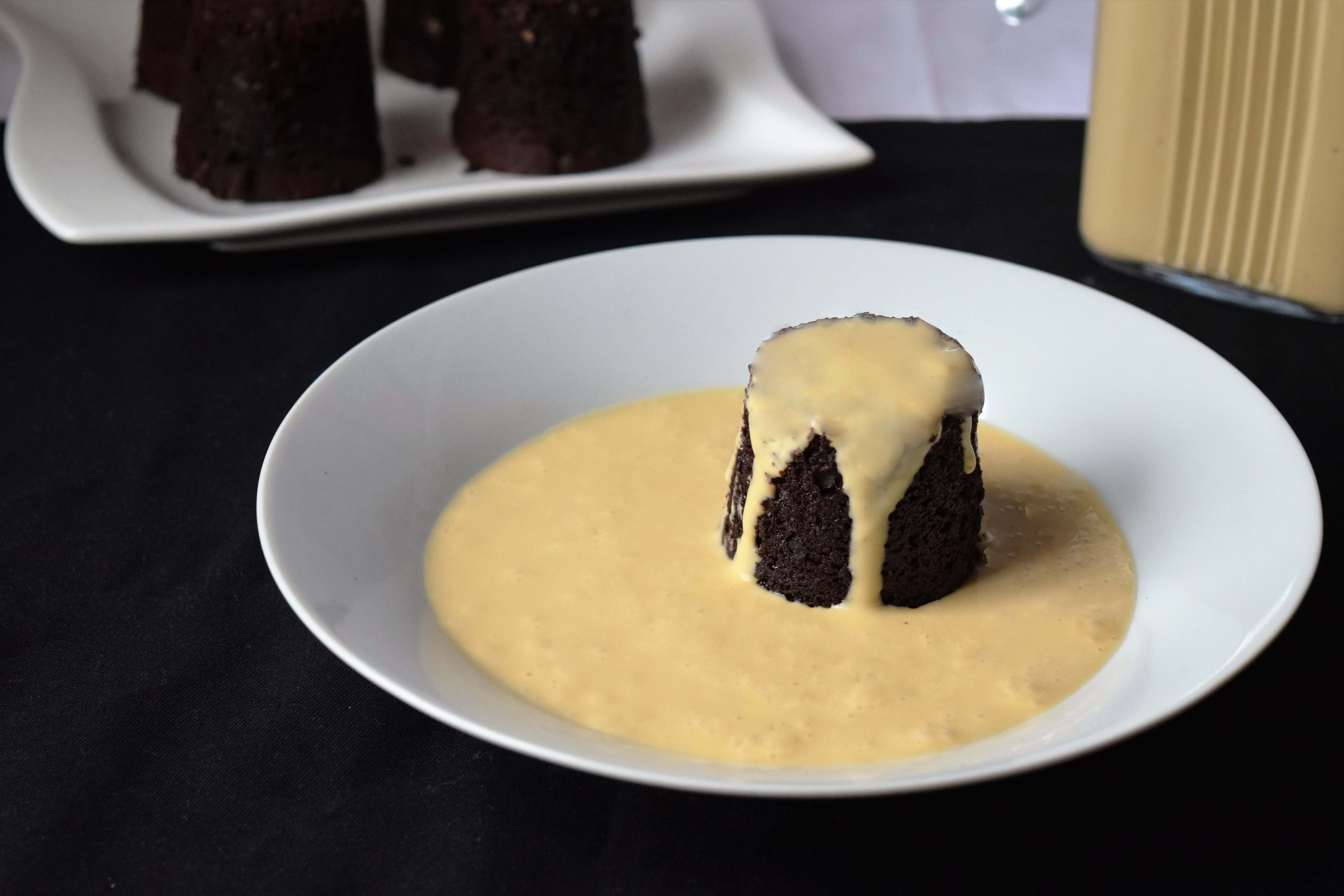 how to make baileys custard
