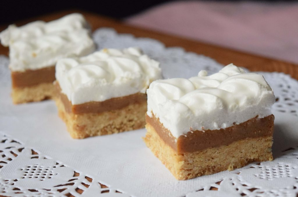 Caramel and Marshmallow Slice