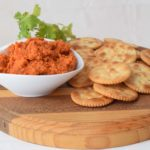 Capsicum and Sun-dried tomato Dip